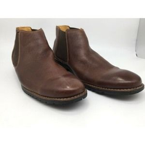 MEN'S SANDRO MOSCOLONI BROWN ANKLE  BOOTS 12D